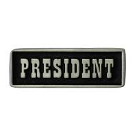 Pin's décoratif Président Biker 100% artisanal