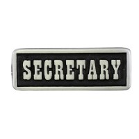 Pin's décoratif Secretary Biker