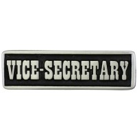 Pin's décoratif Vice Secretary Biker