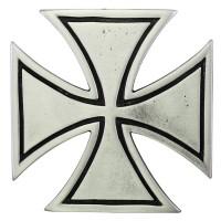 Pin's décoratif Croix de Malte Biker 100% artisanal