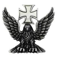 Pin's décoratif Aigle Croix de Malte Biker 100% artisanal